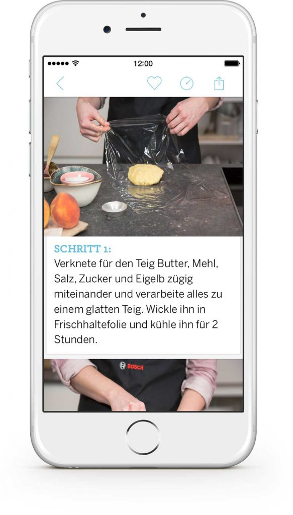 Screenshot der Simply Yummy App