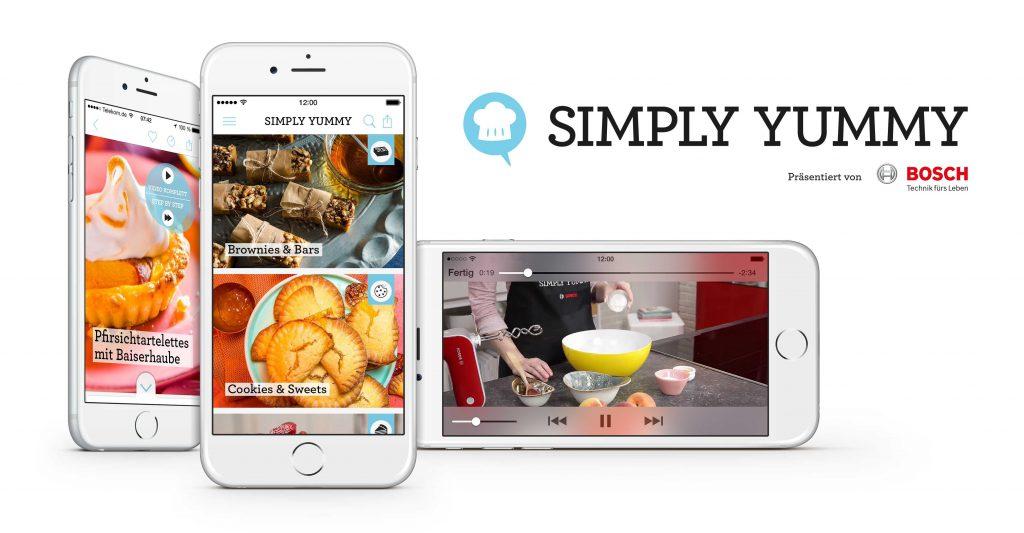 Übersicht der Simply Dummy App