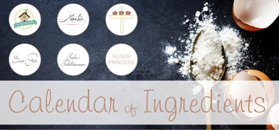 Calendar of Ingredients Apfel Haferflocken Zimt Weihnachten