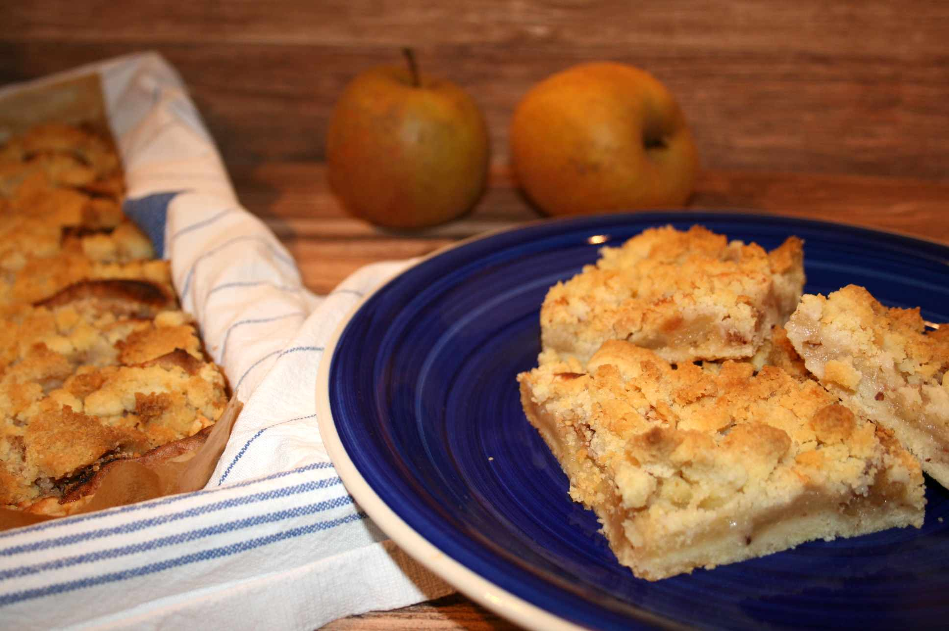 Unser Familienklassiker Apfel Streusel Kuchen