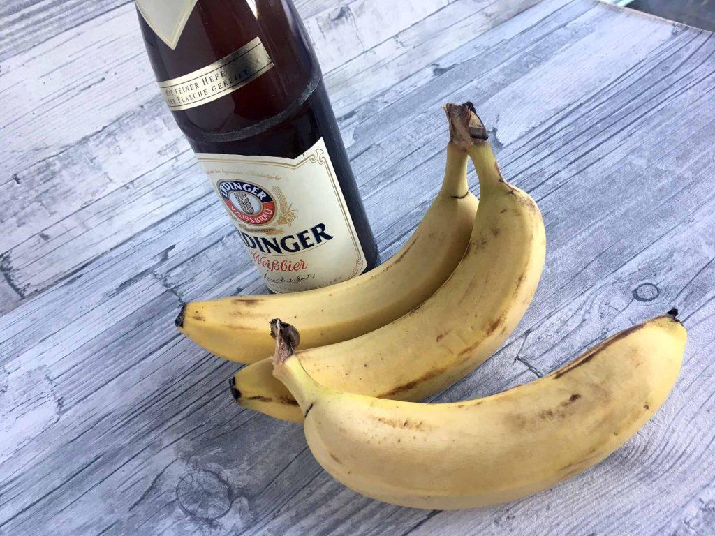 Bananenweizen-Muffins
