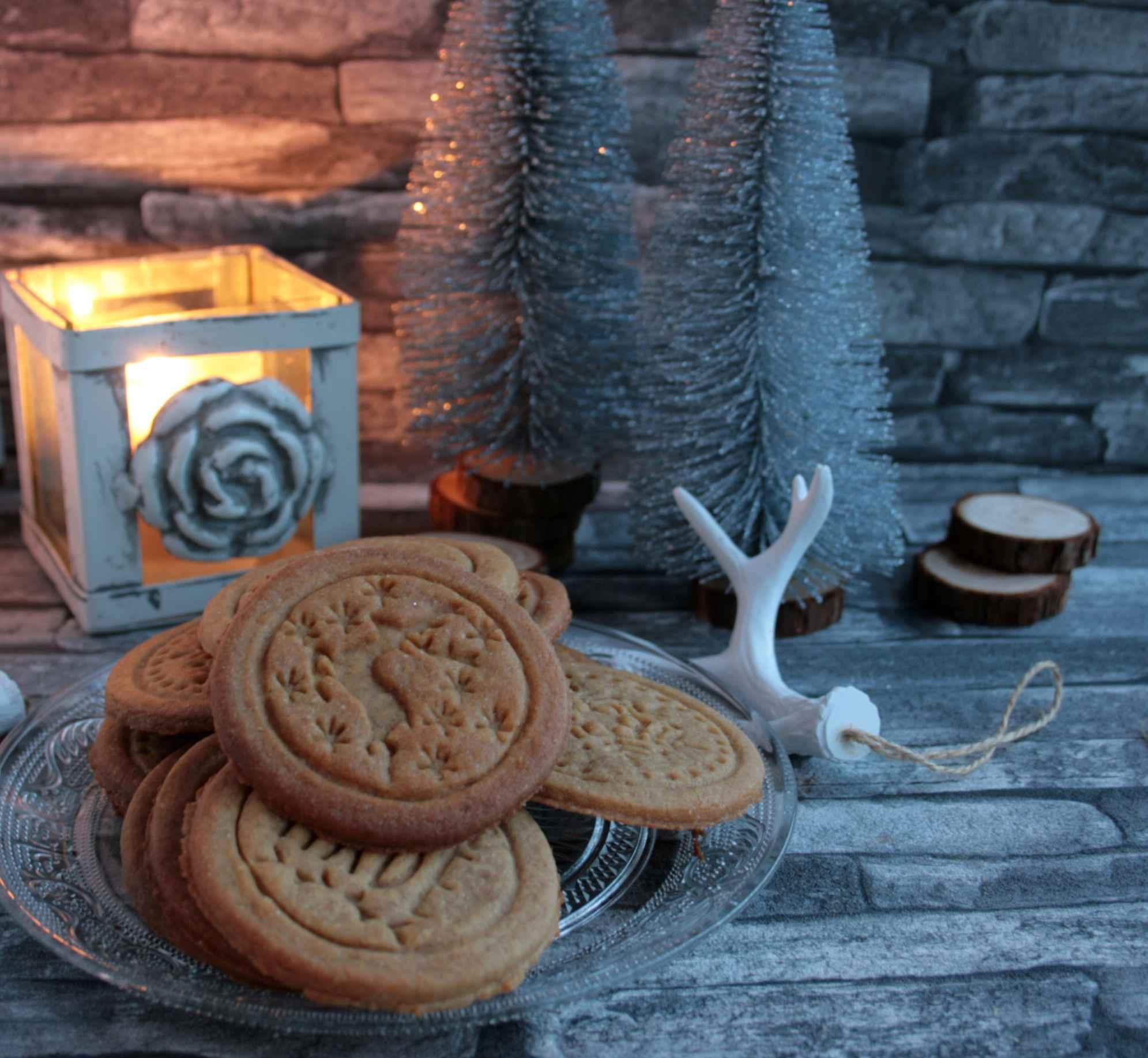 Braune Weihnachtskekse.Leckerchen Aus Dänemark Oma Hennys Brune Kager
