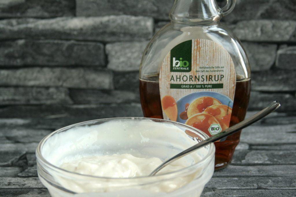 Granatapfel krimiundkeks Rührkuchen Törtchen Creme
