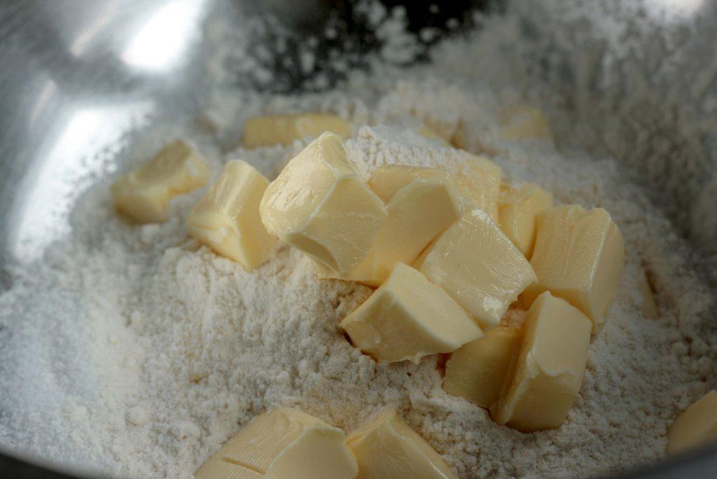 Wie macht man Streusel krimiundkeks Streuselkuchen Krümelkuchen Tutorial