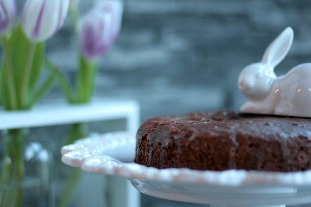 Rüblikuchen Ostern zuckerfrei ohne Weizenmehl lowcarb Möhren krimiundkeks Rührkuchen