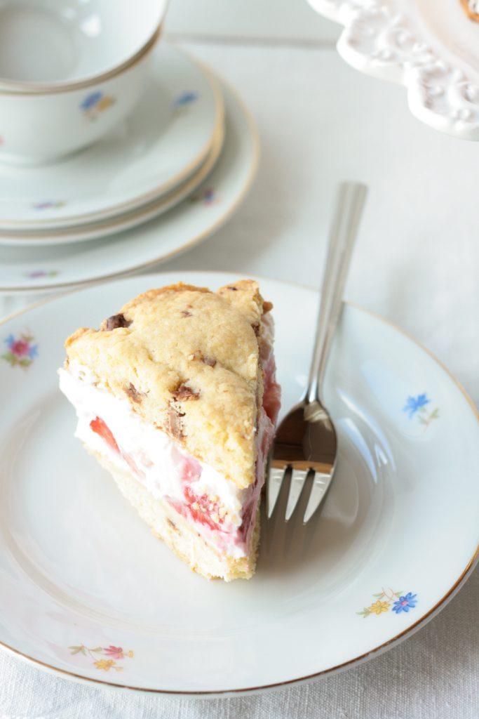 Cookie-Sandwich Cookie Erdbeeren krimiundkeks Keks Quark