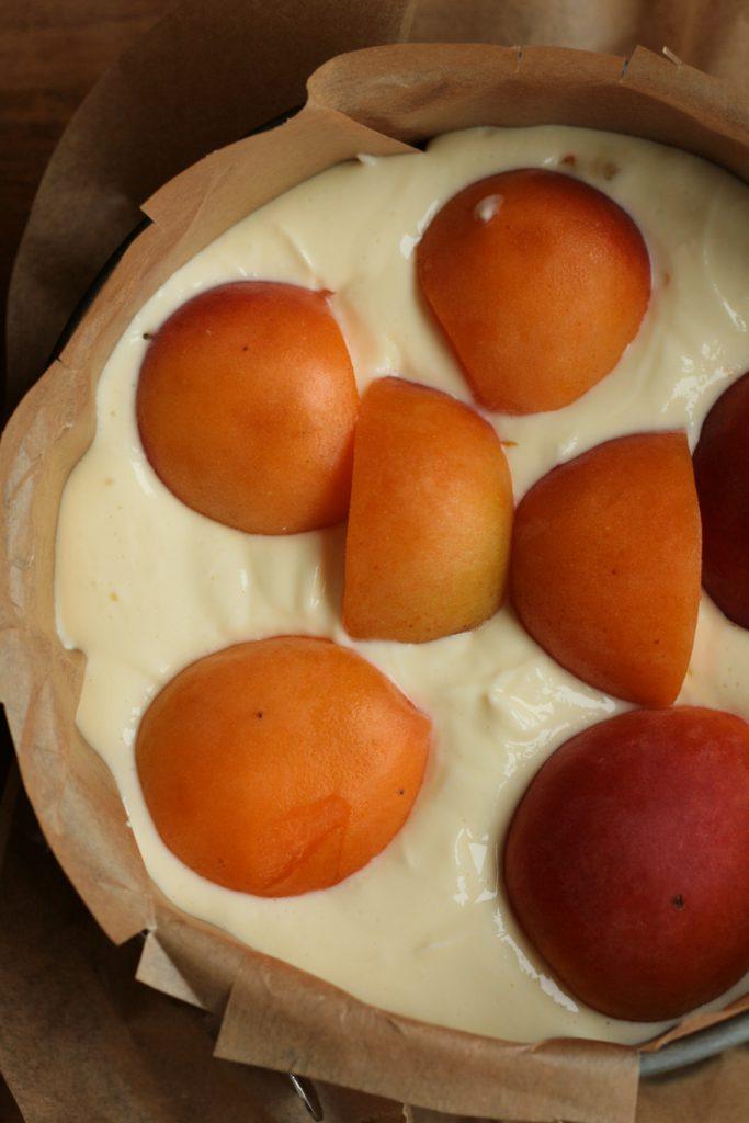 Käsekuchen Streusel Aprikosen Kokos krimiundkeks Quark