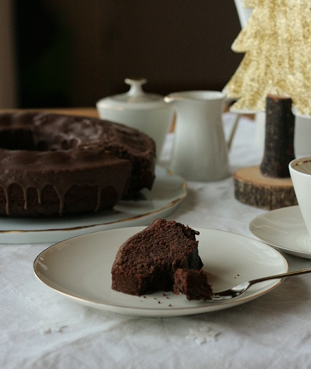 Rotweinkuchen Rührkuchen Rotwein krimiundkeks Kakao Schokokuchen Weihnachten