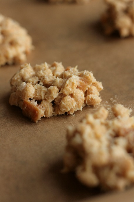 Plätzchen Salzkaramell Sahnebonbon Cookies Weihnachtsplätzchen Haferfleks krimiundkeks