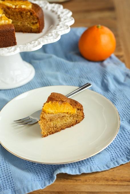 Orangenkuchen Rührkuchen ohne Zucker zuckerfrei Kokosblütenzucker Orange Apfelsine Karamell krimiundkeks backen ohne Zucker