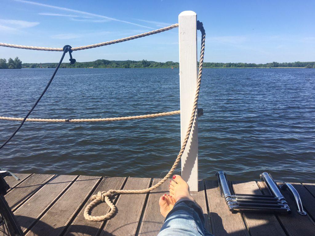 Waldmops Brandenburg Havel Loriot krimiundkeksunterwegs Bunbo Hausboot Havelseen Waldmöpse von Bülow Urlaub Reisebericht