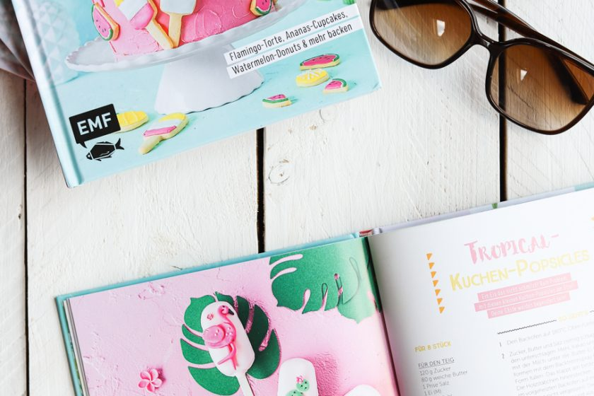 Tropical Party Backbuch Emmas LIeblingsstücke EMF Verlag verlosung Gewinnspiel krimiundkeks Sommer Backen