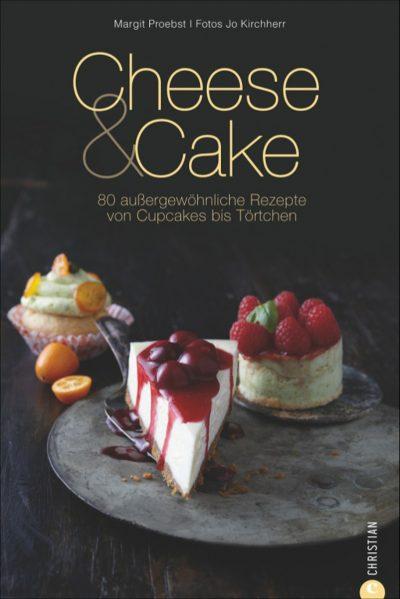Backbuch Cheese & Cake Käsekuchen Christian Verlag Cheesecake Margit Proetsch krimiundkeks