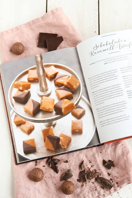 Backbuch Schokolade Schokoladen-Manufaktur Annette Klingelhöfer Kakao Rezensionsexemplar Rezension Rezepte krimiundkeks