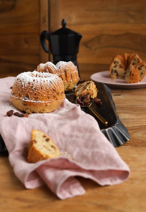 Gugelhupfe Rosinen Schokolade Minigugel Rührteig Rührkuchen Mandeln krimiundkeks Gugelhupf-Rezept