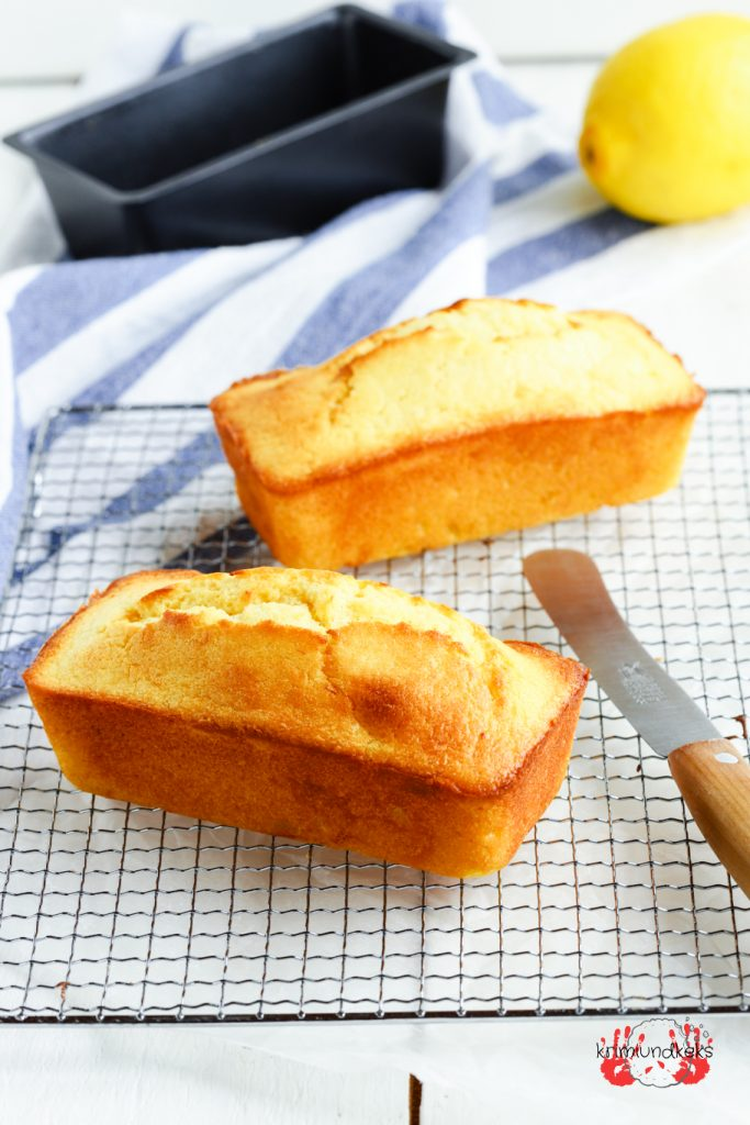 Zitronenkuchen Rührkuchen lemon cake Kastenkuchen Kastenform Klassiker Zitronen Zuckerguss krimiundkeks