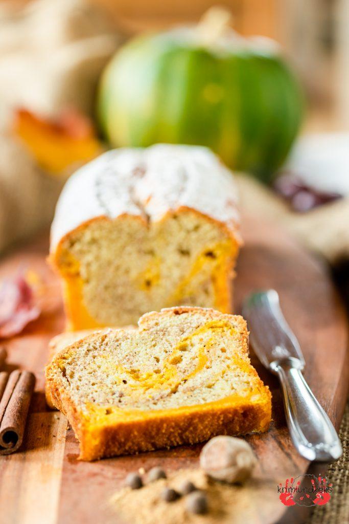 Pumpkin-Spice-Latte Marmorkuchen Rührteig Zimt Pumpkin-Spice Kürbiskuchen Kürbis Herbst Kastenkuchen krimiundkeks