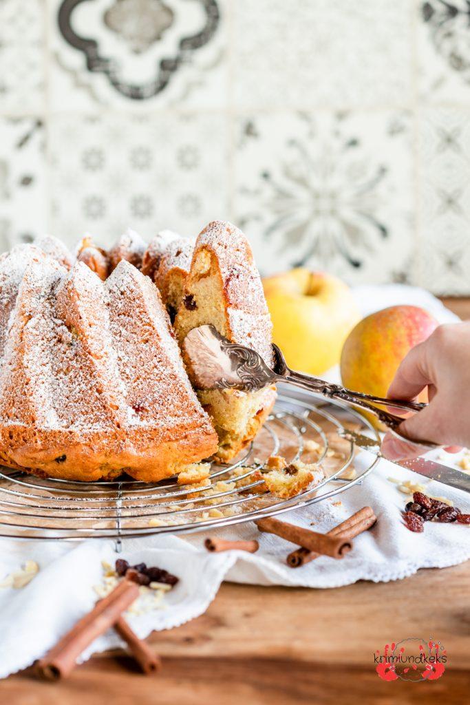 rührkuchen mit mandeln