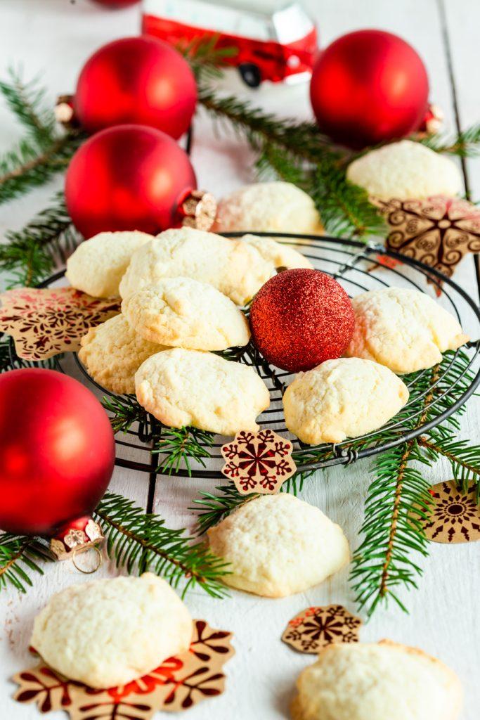 Weihnachtsbäckerei weihnachten plätzchen sandtörtchen omas rezepte backen für weihnachten backrezept rührteig krimiundkeks