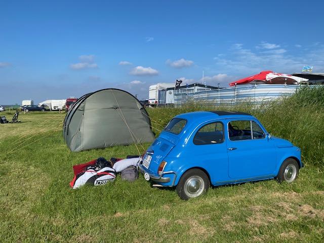 Camping Wremen Wremer Tief Fiat 500