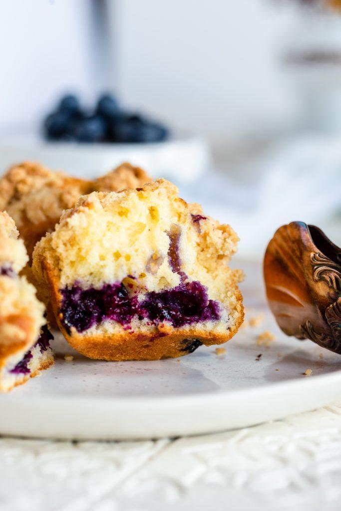 Heidelbeer-Buttermilch-Muffins